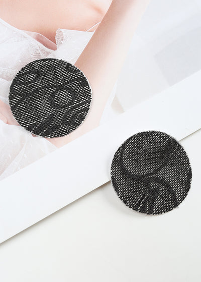 Invisible Disposable Chest Sticker-Round Lace Flower