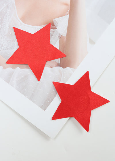 Invisible Disposable Chest Sticker-Pure Color Star