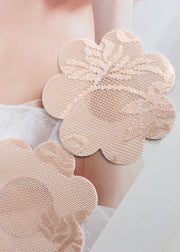 Invisible Disposable Chest Sticker-Lace Flower