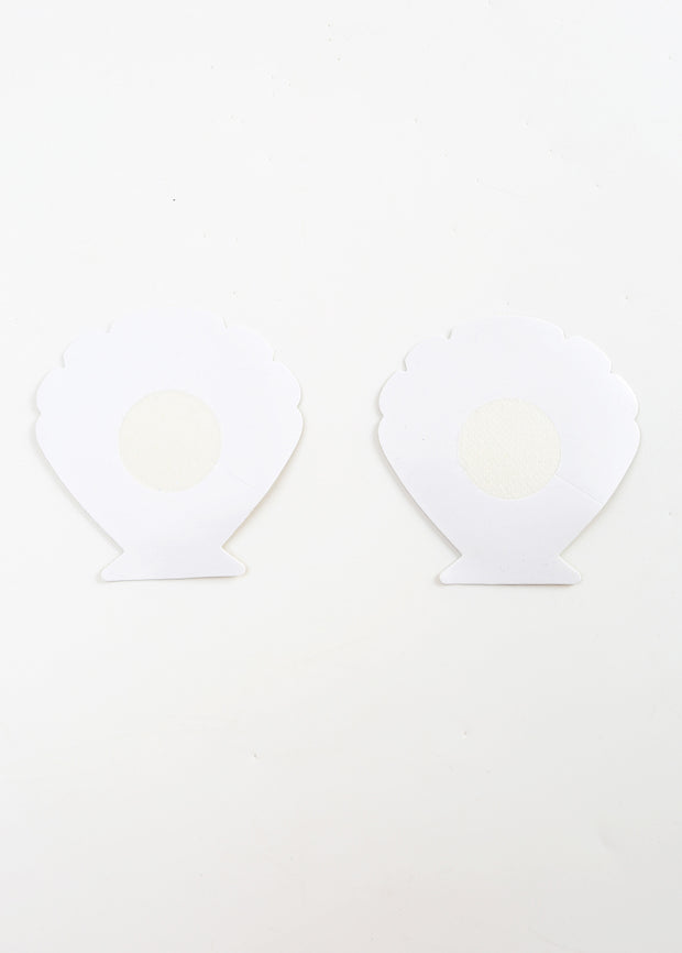Invisible Disposable Chest Sticker-Golden & Silvery Shell