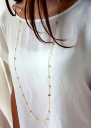 Retro Long Sweater Necklace