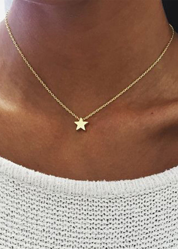 Thickstar Pendant Necklace