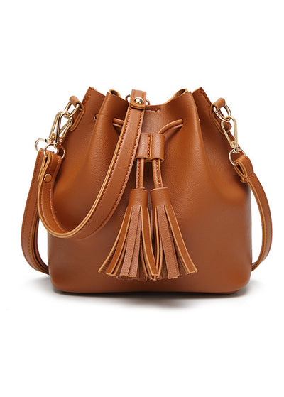 Fringed Leisure Shoulder Bag