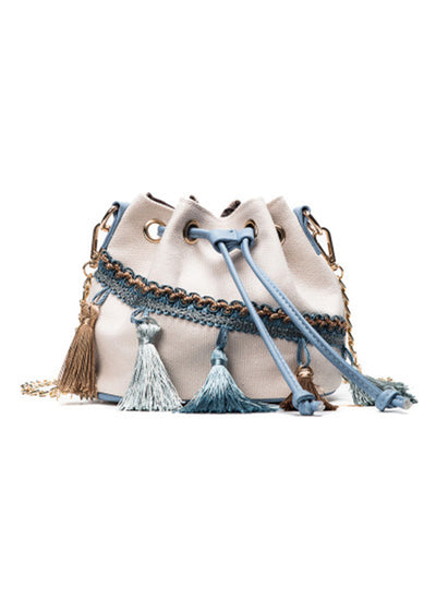 Tassels Bucket Bag