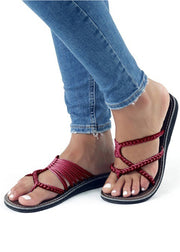 Weaving Rope Sandals