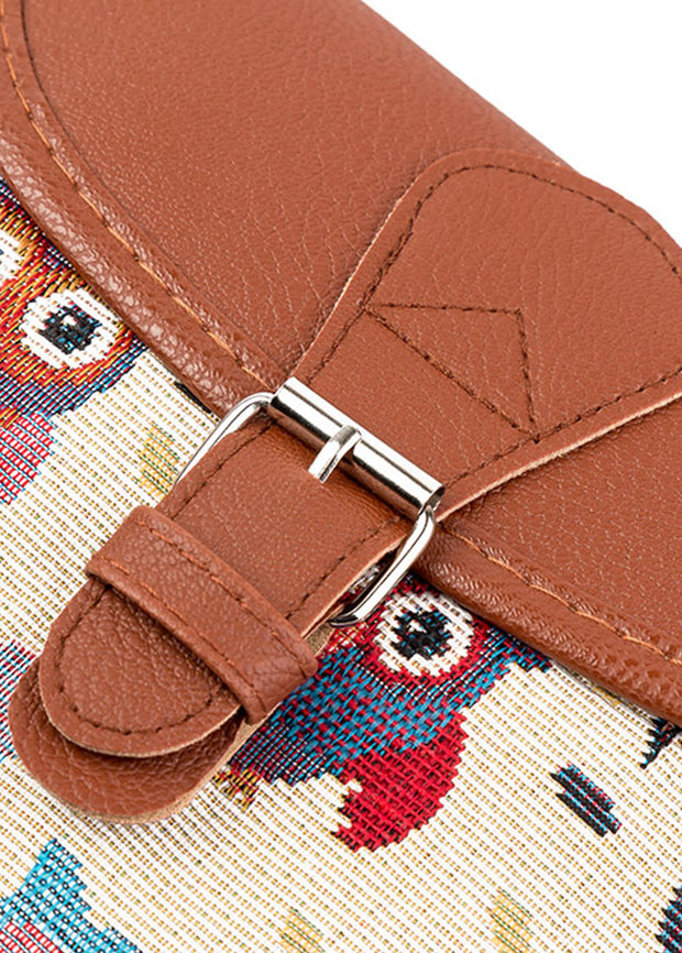 Ethnic Style Embroidery Single Shoulder Bag