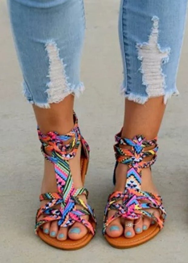Colorful Bohemian Sandals