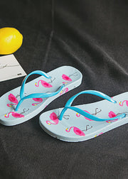 Flamingo printed Beach Slippers