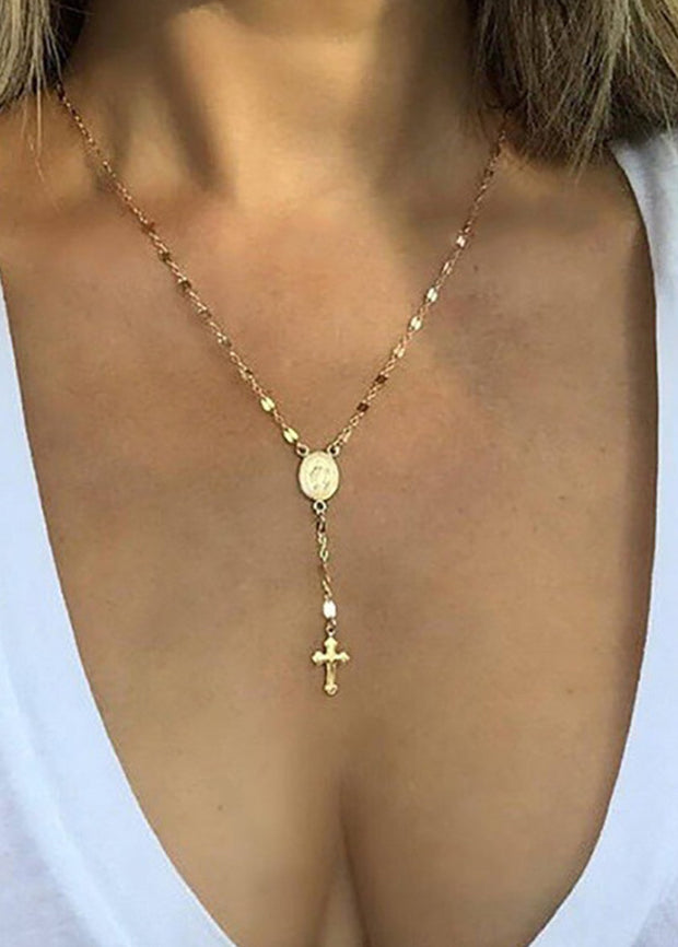 Cross Fashion Necklace