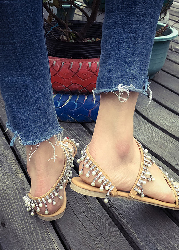 Manual Pearl Sandals