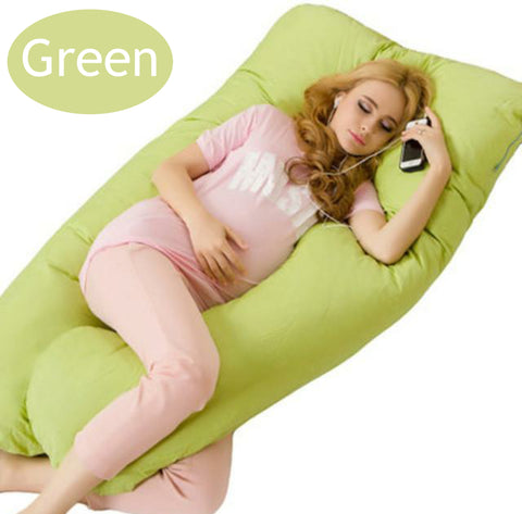 Image of Pregnancy Maternity U Shaped Body Pillow 130x70cm
