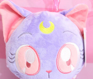 Cute Sailor Moon Luna Plush Keychain