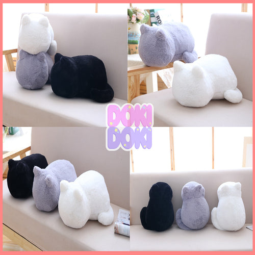 33cm 3 Colors Cats Shadow Plush Pillow