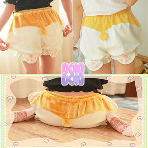 Cute Corgi Shorts Bloomers Pajama