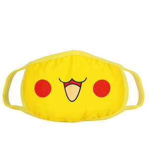 Cute Pikachu Anti-Dust Face Mask
