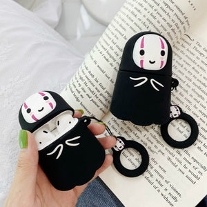 Kawaii Kaonashi No Face Airpods Case