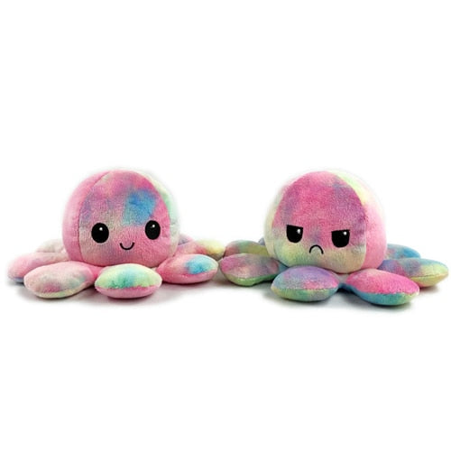 Reversible Flip Octopus Plush