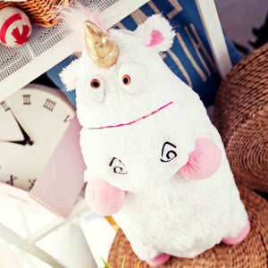 Derpy Fluffy Unicorn Soft Plush Doll