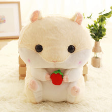 40 CM Cute Fluffy Hamster Plush Backpack