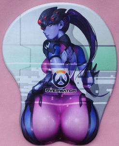 3D Overwatch LEWD Mouse Pad