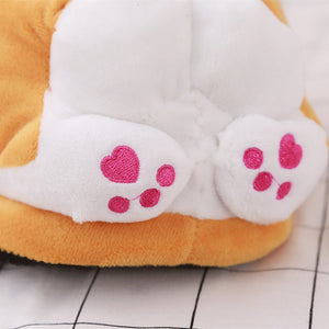 Lovely Corgi Slippers