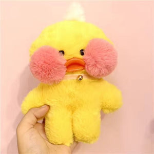 Cute Kawaii Duck Pink Face Plush