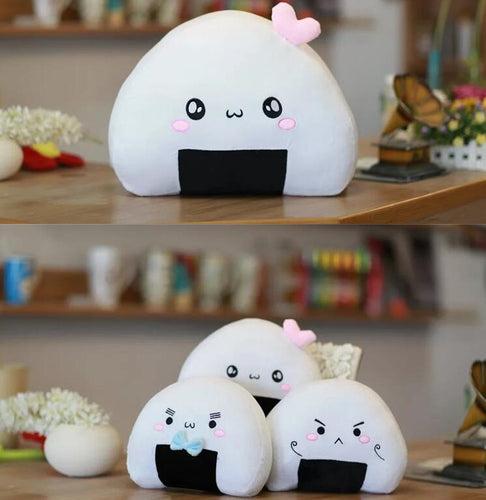 Cute Onigiri Rice Ball Pillow Plush