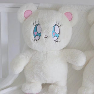 Cute fluffy Bear Plush Toy & Backpack