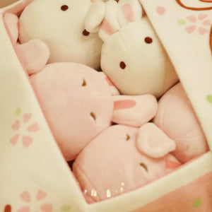 Sakura Usagi Bunny Ball Plush Toy in Bag