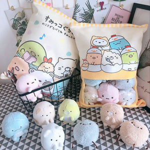 Sumikogurashi Pudding Plush Toys in Bag