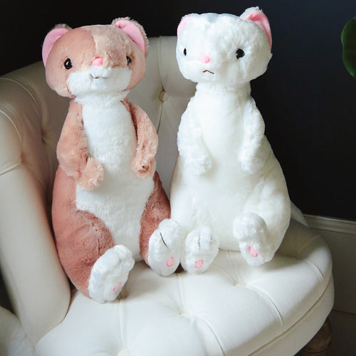 50cm Cute Fluffy Ferret Plush