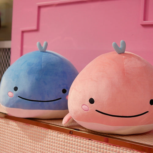 Cute Smiley Whale Plush