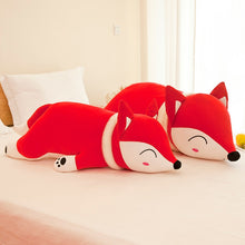 Kawaii Sleepy Lil Fox Pillow Plush