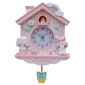 Novelty 12 Inch Sanrio Wall Quartz Clock