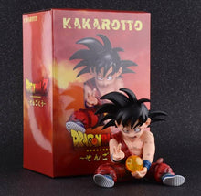 Damaged Kid Son Goku (Kakarotto) figure