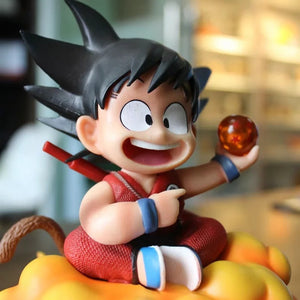 Dragon Ball Kid Goku & Kintoun Figure