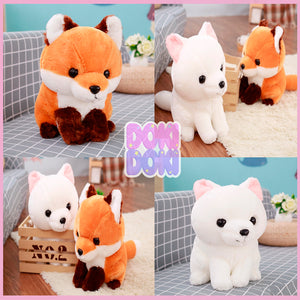 40cm Cute Fox Plush Doll