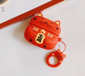 Lucky Cat AirPods Case