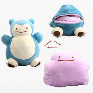 30 cm Pokemon Snorlax Ditto Transforming Plush