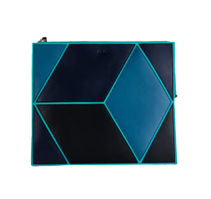 The Cube Macarella Large Clutch