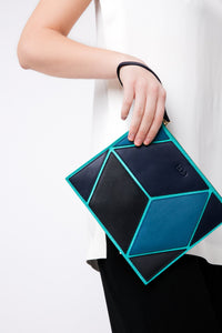 The Cube Macarella Medium Clutch