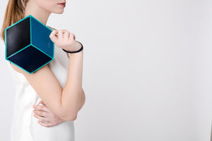 The Cube Macarella Small Clutch