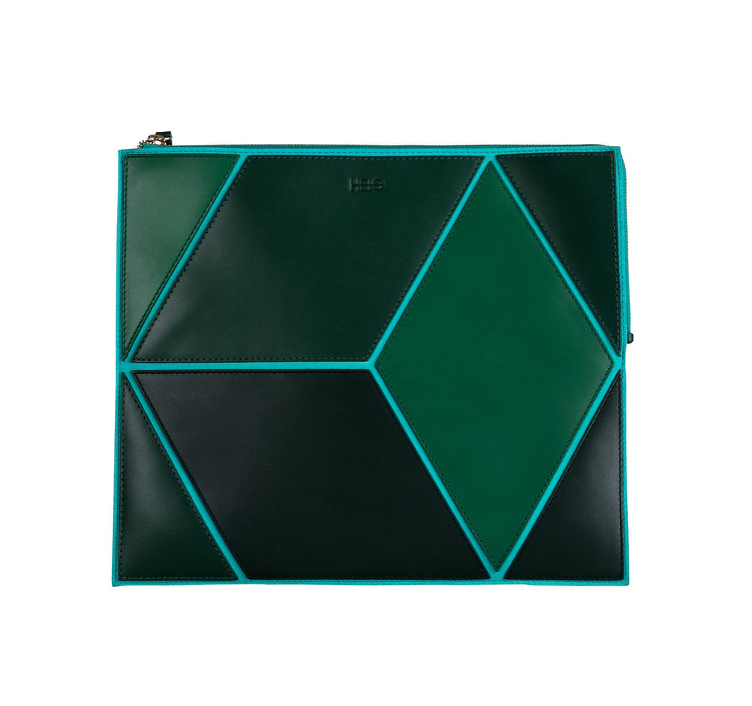 The Cube Mitjana Large Clutch