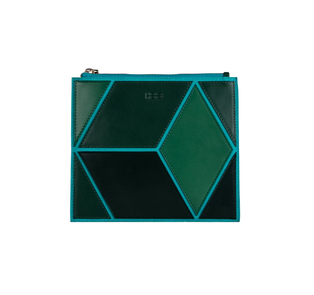 The Cube Mitjana Medium Clutch