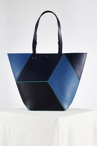 The Cube Macarella Large Tote