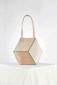The Cube Turqueta Medium Tote
