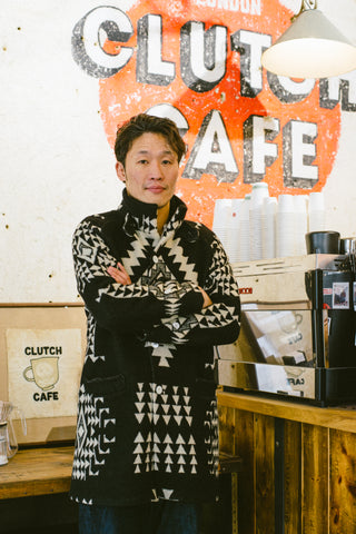 Jelado Yohei Goto Clutch Cafe London Salem Coat