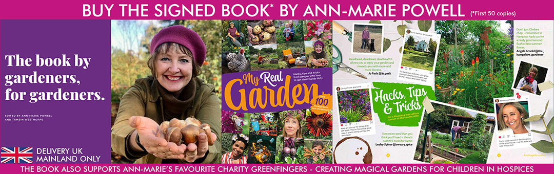 Signed Copy of the My Real Garden book by Ann-Marie Powell