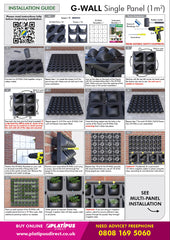 G-Wall Single Panel Installation Guide