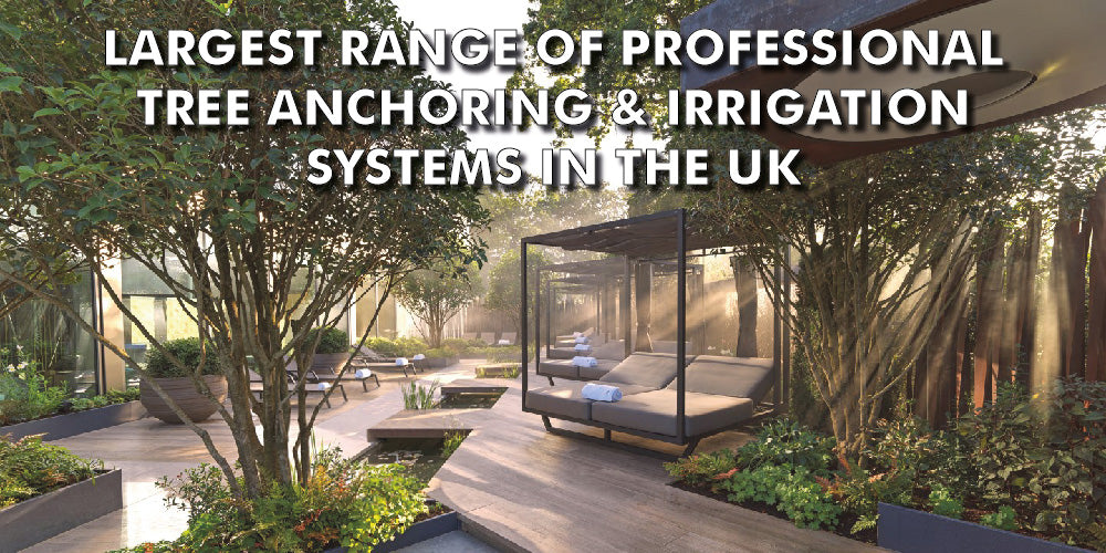 Largest Range of Professional Tree Irrigation Systems in the UK